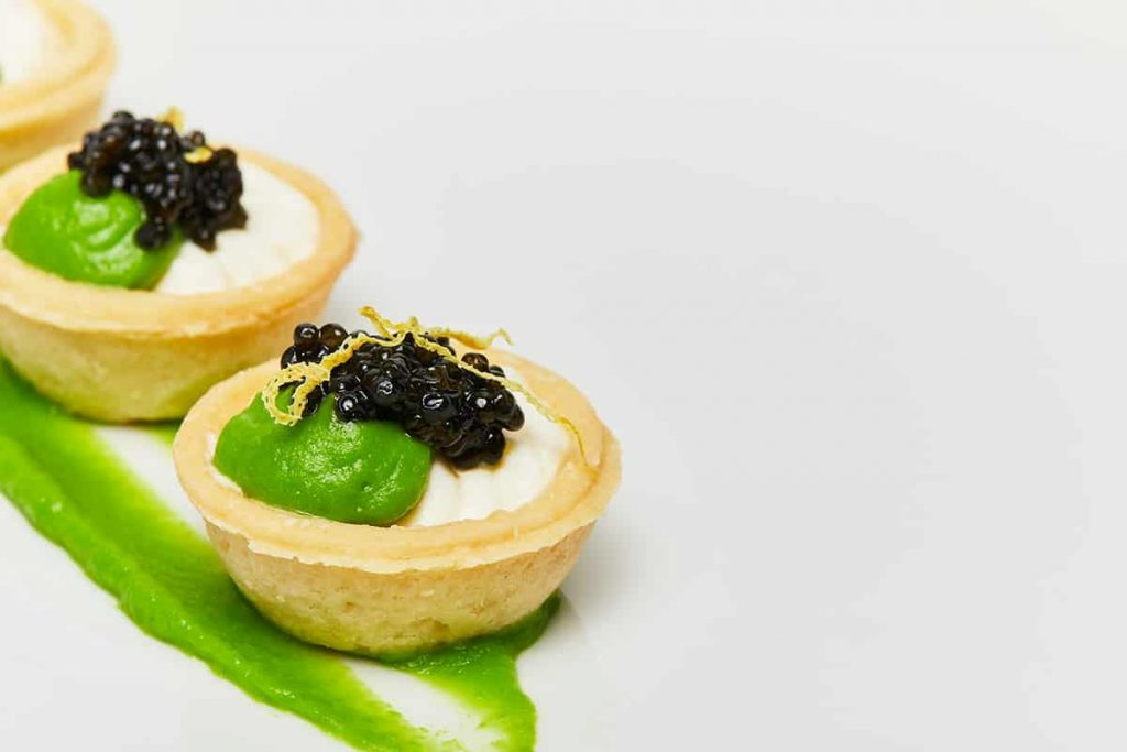 English Pea Tartlet
