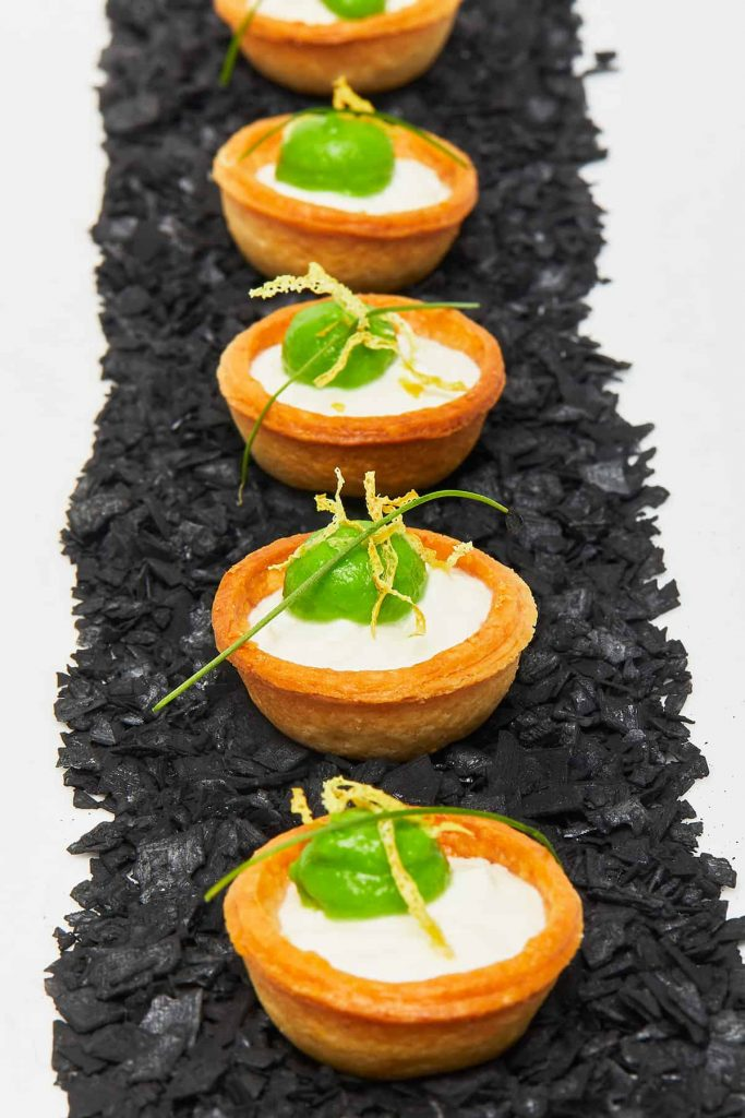English Pea Tartlet Alternative