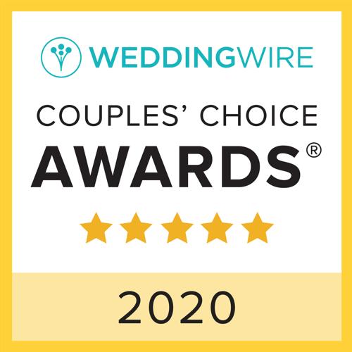 WeddingWire Couples' Choice Awards 2020 badge