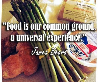 food is our common ground quote