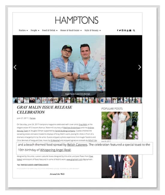 hamptons press