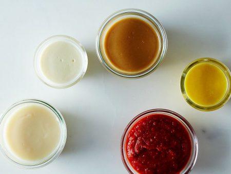 five basic sauces
