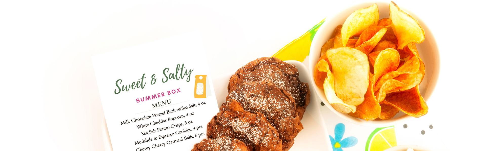 summer giftbox sweet & salty