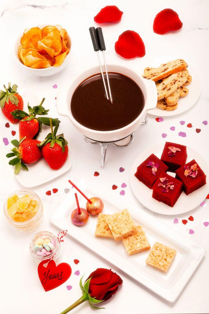 valentines fondue kit