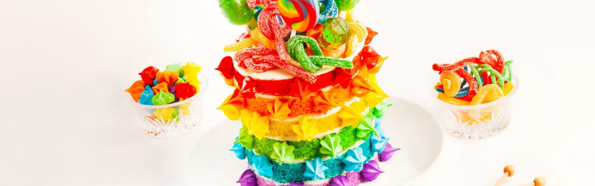 BOX PRIDE RAINBOW CAKE